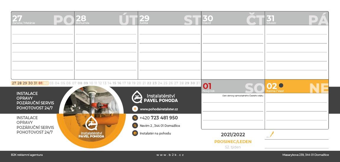 Podnikatelský kalendář